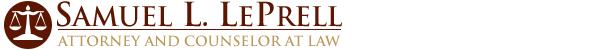 Samuel L. LePrell Attorney and Counselor at Law logo